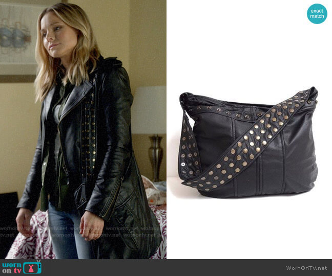 Karen Kalashnik Veronica Mars Studded Strap Bag worn by Veronica Mars (Kristen Bell) on Veronica Mars