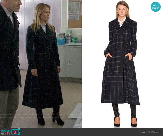 Marissa Webb Feria Coat worn by Joan Watson (Lucy Liu) on Elementary
