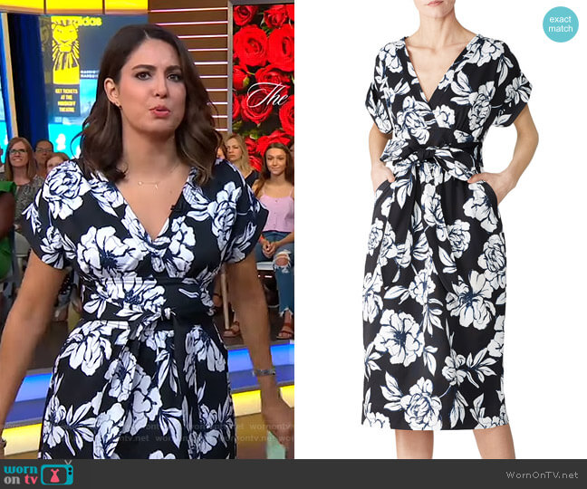 Luciano Dress by Marissa Webb worn by Cecilia Vega  on Good Morning America