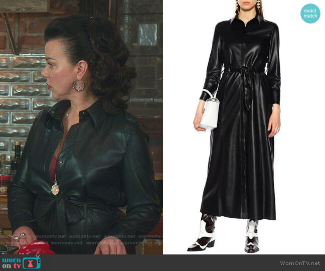 Taurus Dress by Nanushka worn by Maggie (Debi Mazar) on Younger