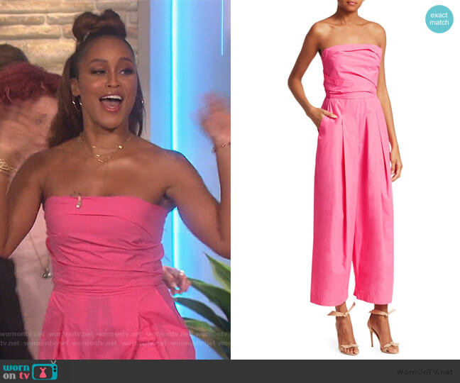 Tristan Jumpsuit by Rachel Comey worn by Eve  on The Talk