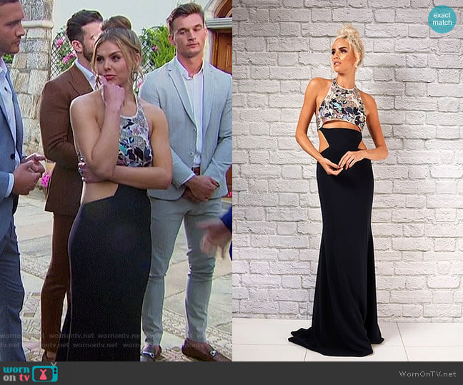 Nicole Dress by Randi Rahm worn by Hannah Brown  on The Bachelorette