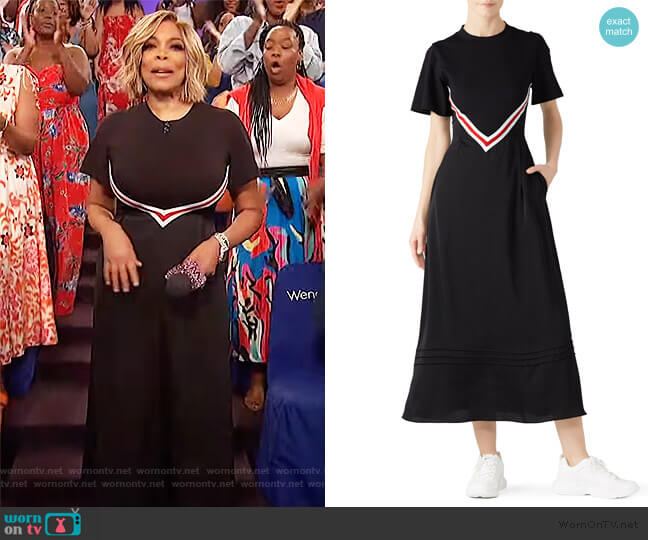 Jersey Layered Dress by SJYP worn by Wendy Williams  on The Wendy Williams Show