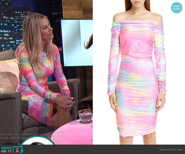 Jolene Dress by Sies Marjan worn by Morgan Stewart  on E! News