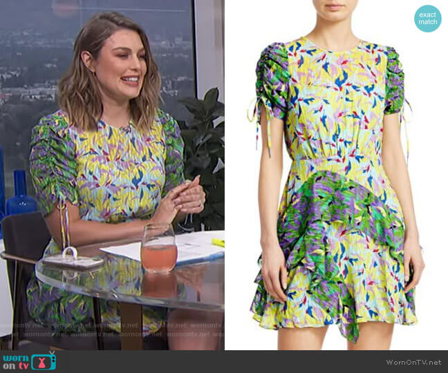 Corinne Dress by Tanya Taylor worn by Carissa Loethen Culiner  on E! News