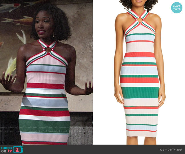 Ted Baker Iyndiaa Tutti Frutti Dress worn by Ana Hamilton (Loren Lott) on The Young & the Restless