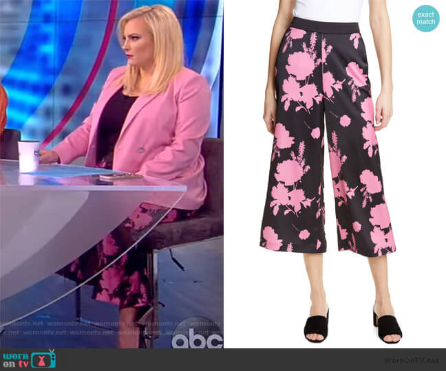 Ricey Berry Sundae Culottes by Ted Baker worn by Meghan McCain  on The View