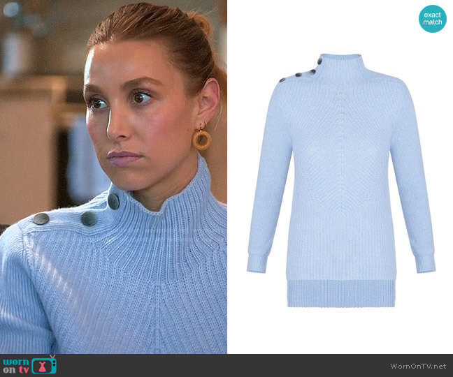 Veronica Beard Rama Sweater worn by Whitney Port  on The Hills New Beginnings