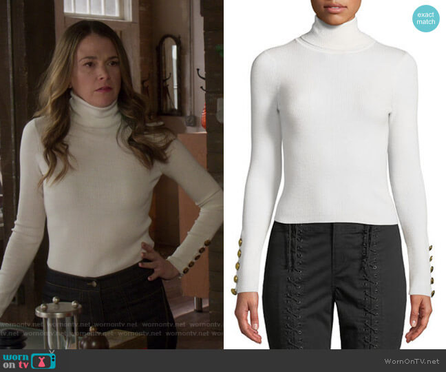 Desi Sweater by A.L.C. worn by Liza Miller (Sutton Foster) on Younger
