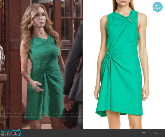 A.L.C. Jina Dress worn by Lauren Fenmore (Tracey Bregman) on The Young & the Restless