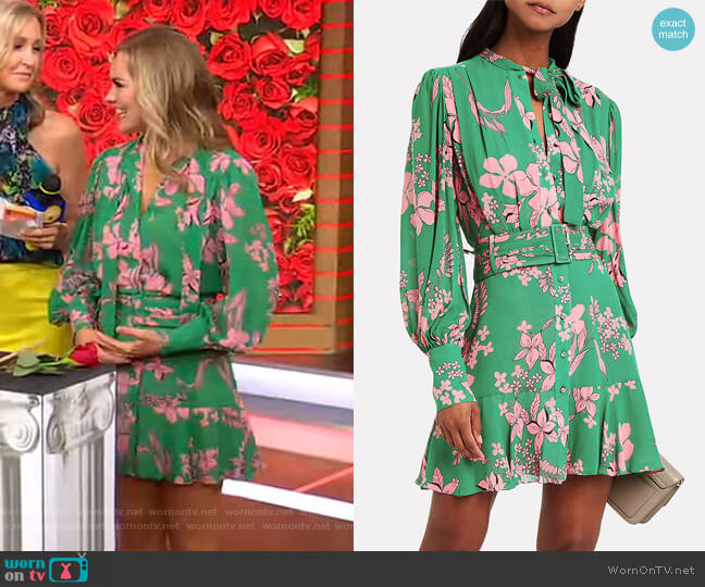 Tidale Island Floral Dress by Alexis worn by Hannah Brown  on Good Morning America