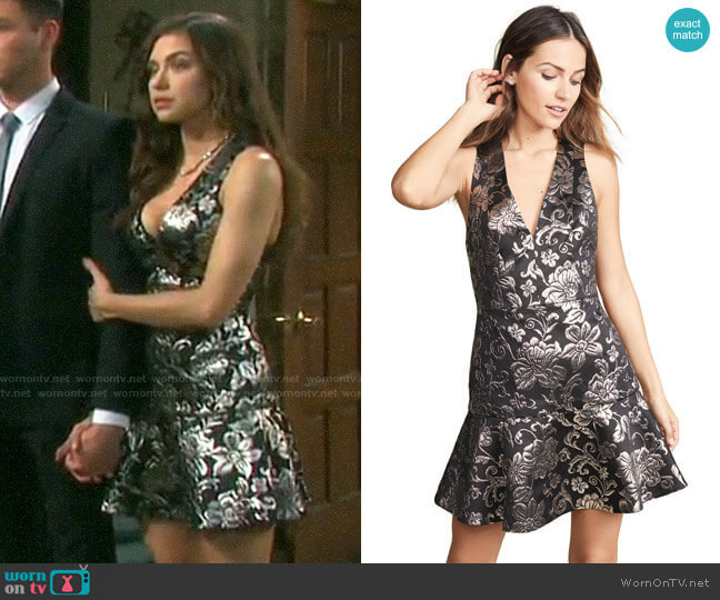 Alice + Olivia Marleen Dress worn by Ciara Brady (Victoria Konefal) on Days of our Lives