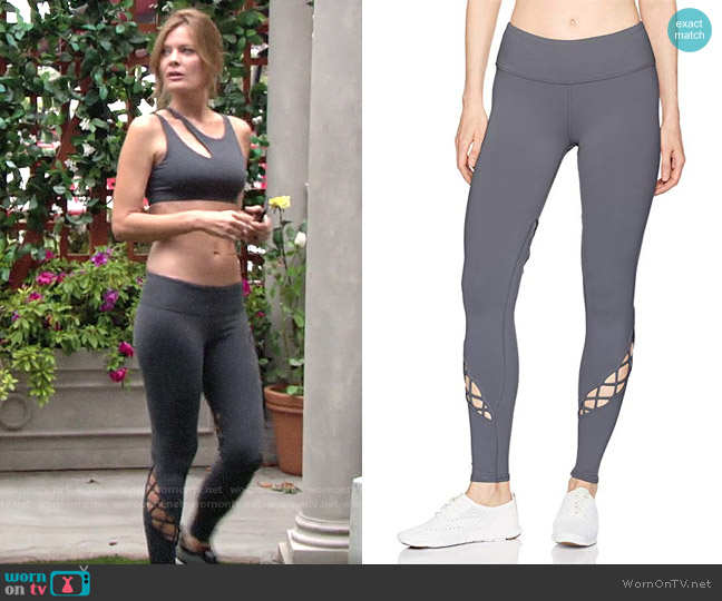 Alo Yoga Entwine Leggings worn by Phyllis Summers (Michelle Stafford) on The Young & the Restless