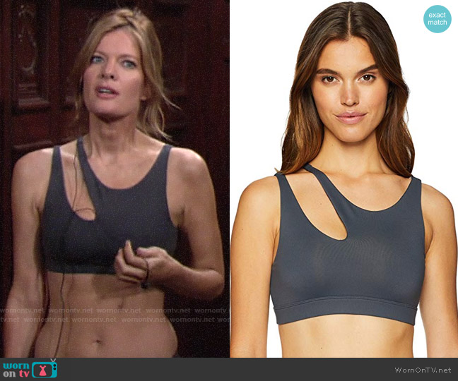Alo Yoga Peak Bra worn by Phyllis Summers (Michelle Stafford) on The Young & the Restless