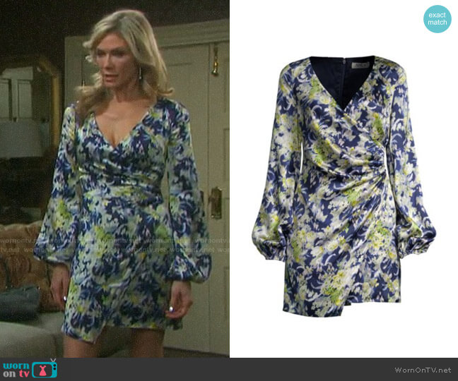 Amur Fran Dress worn by Kristen DiMera (Stacy Haiduk) on Days of our Lives