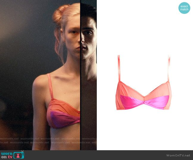 Araks Yanelis Bra worn by Jules Vaughn (Hunter Schafer) on Euphoria