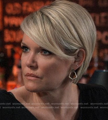 Ava's earrings on General Hospital