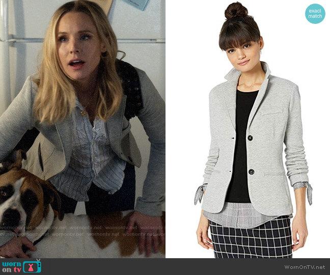 Bailey 44 Cozy Up Fleece Jacket Blazer worn by Veronica Mars (Kristen Bell) on Veronica Mars