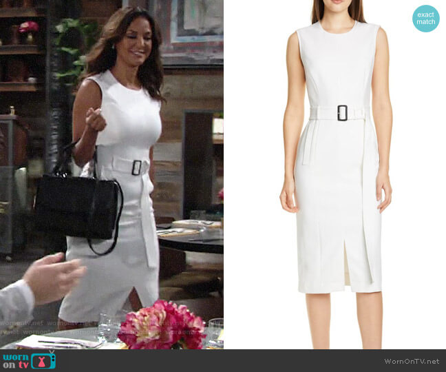BOSS Dadoria Dress worn by Celeste Rosales (Eva LaRue) on The Young & the Restless