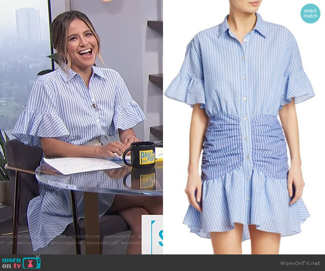 Asher Shirtdress by Cinq a Sept worn by Erin Lim  on E! News