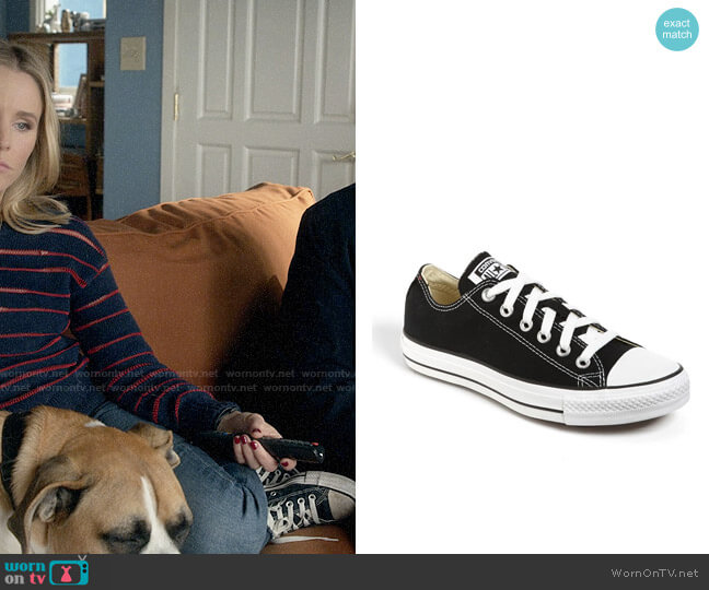 Converse Chuck Taylor Low Top Sneaker worn by Veronica Mars (Kristen Bell) on Veronica Mars