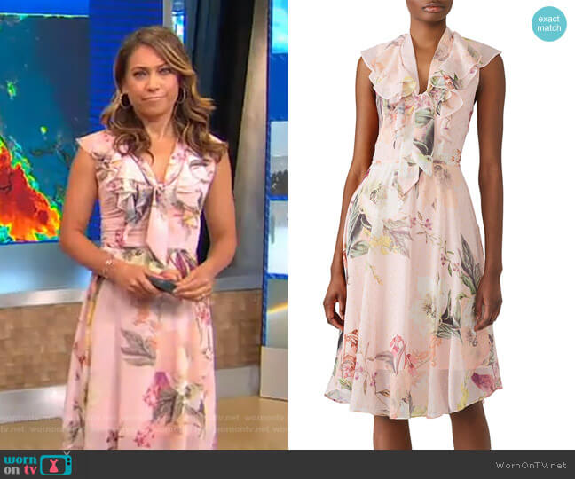 Facade Dress by Cooper Street worn by Ginger Zee  on Good Morning America