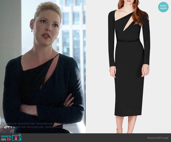 Cushnie Pyramid Dress worn by Samantha Wheeler (Katherine Heigl) on Suits
