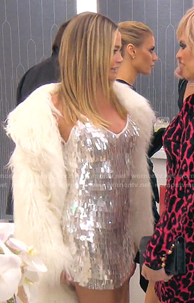 Denise's sequin mini dress on The Real Housewives of Beverly Hills