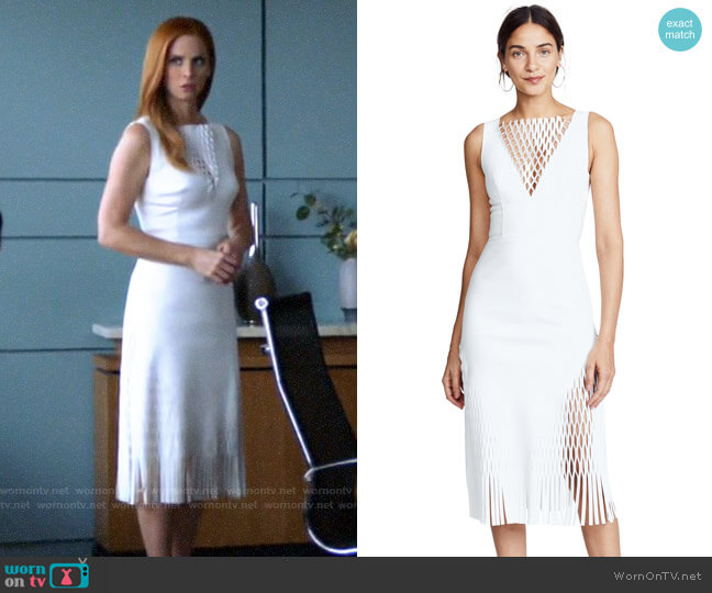 Dion Lee Mirror Dress worn by Donna Paulsen (Sarah Rafferty) on Suits