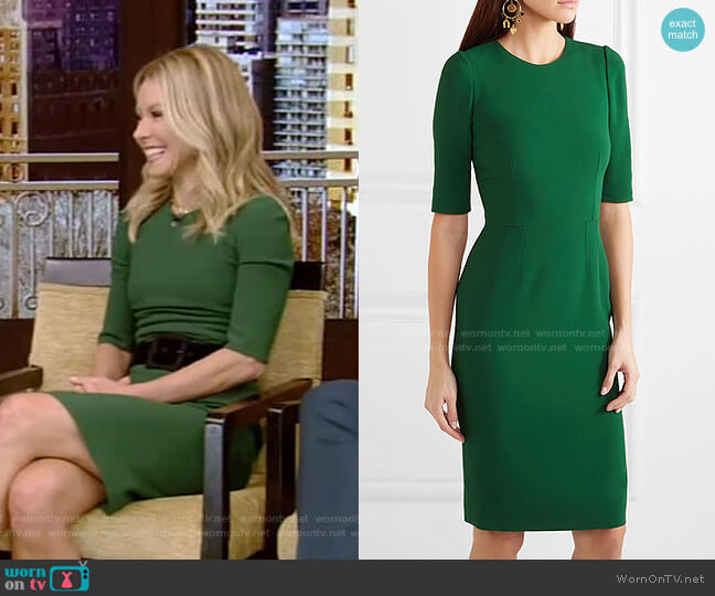 Cady Dress by Dolce & Gabbana worn by Kelly Ripa  on Live with Kelly & Ryan