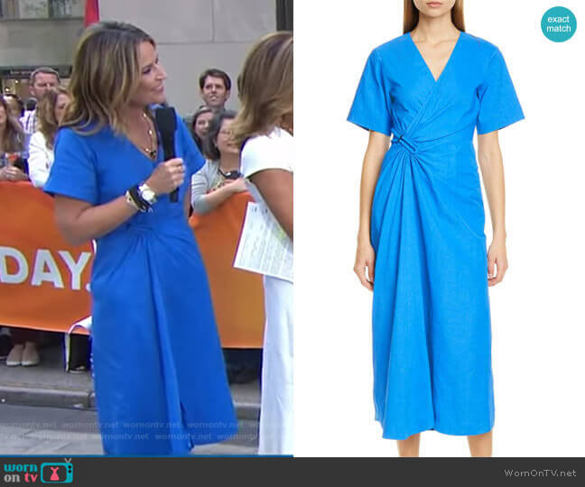 Edie Dress by A.L.C. worn by Savannah Guthrie  on Today