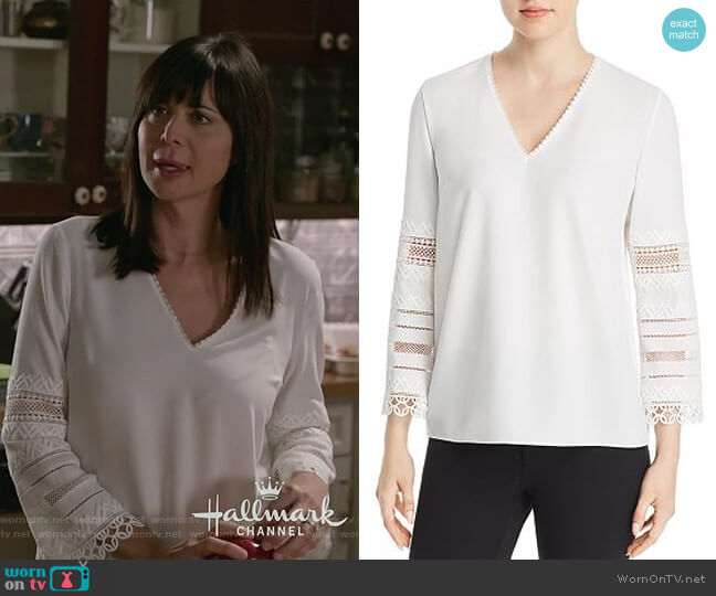 Elvira Blouse by Elie Tahari worn by Cassandra Nightingale (Catherine Bell) on Good Witch