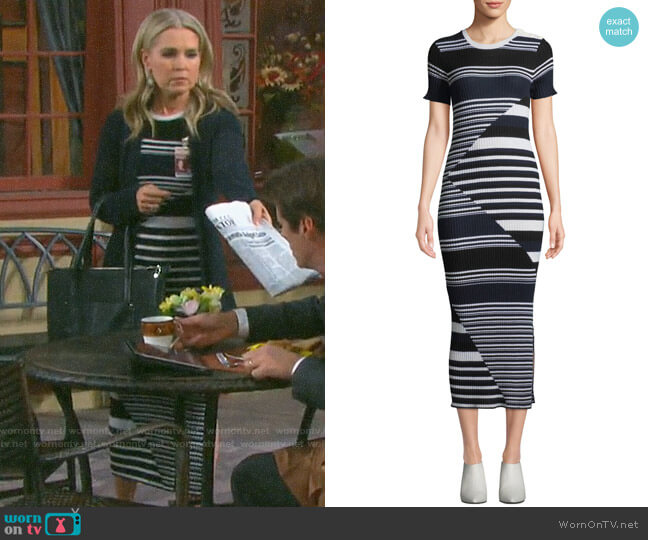 Equipment Dewey Dress worn by Jennifer Horton (Melissa Reeves) on Days of our Lives
