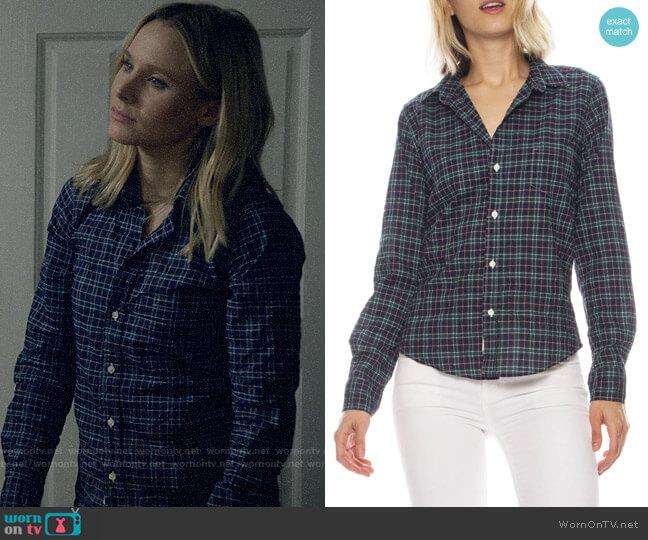 Frank & Eileen Barry Plaid Shirt worn by Veronica Mars (Kristen Bell) on Veronica Mars