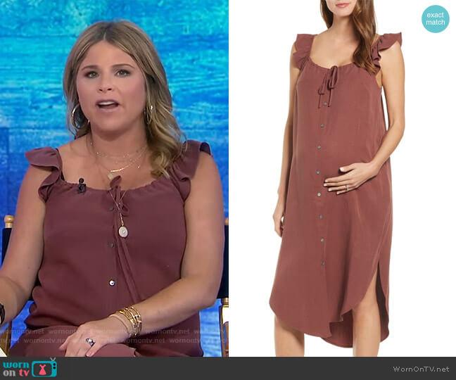 Jenna Dress by Hatch worn by Jenna Bush Hager  on Today