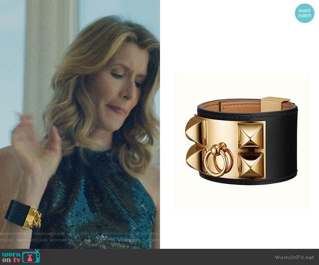Hermes Collier de Chien bracelet worn by Renata Klein (Laura Dern) on Big Little Lies