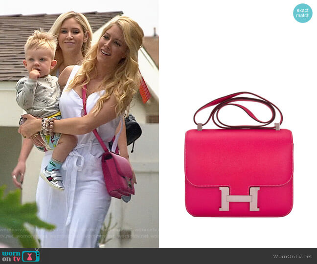 Hermes Constance Bag worn by Heidi Montag  on The Hills New Beginnings