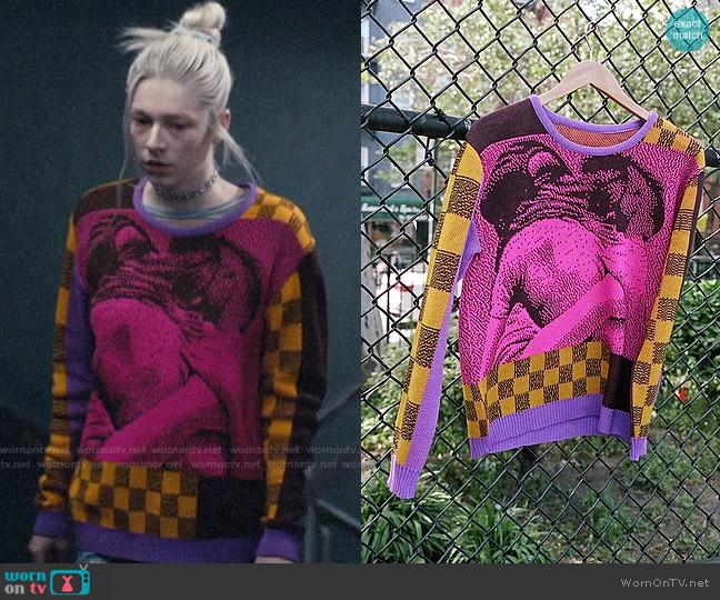 Iggy Streetwise Sweater worn by Jules Vaughn (Hunter Schafer) on Euphoria
