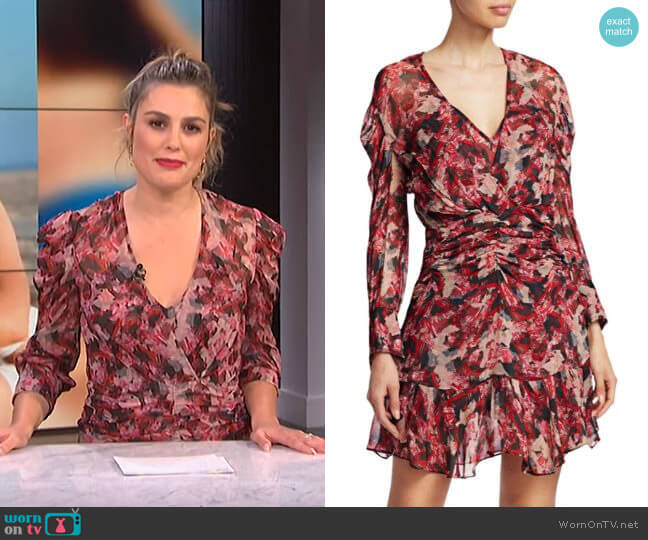 Wick Dress by Iro worn by Carissa Loethen Culiner  on E! News