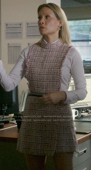 Joan's tweed romper on Elementary