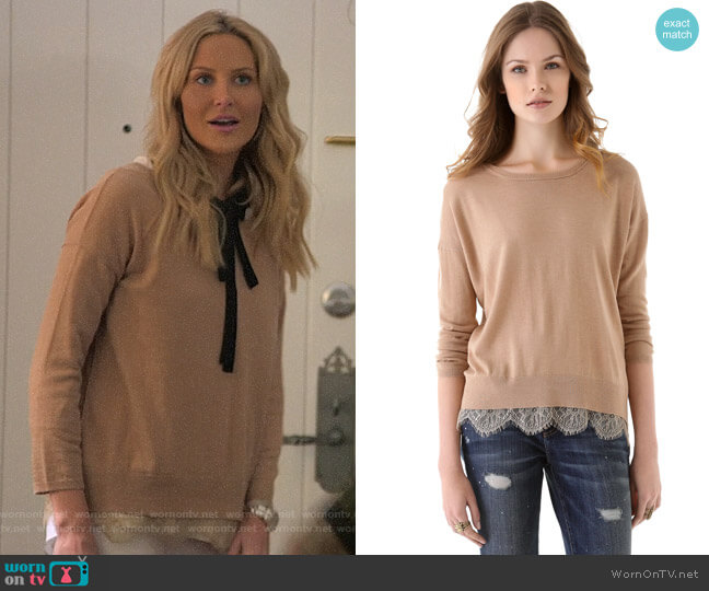 Joie Hilano Sweater worn by Stephanie Pratt  on The Hills New Beginnings