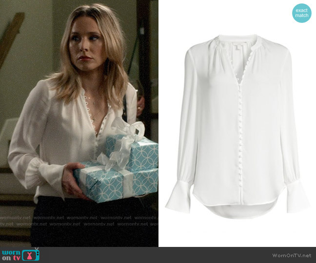 Joie Tariana Blouse worn by Veronica Mars (Kristen Bell) on Veronica Mars