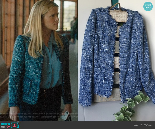 Kate Spade Tweed Jacket worn by Madeline Martha Mackenzie (Reese Witherspoon) on Big Little Lies
