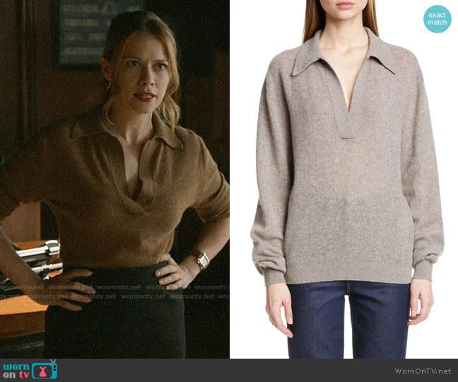 Khaite Jo Sweater worn by Keri Allen (Bethany Joy Lenz) on Pearson