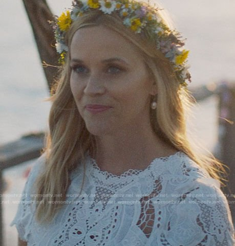 Madeline's vow renewal dress on Big Little Lies
