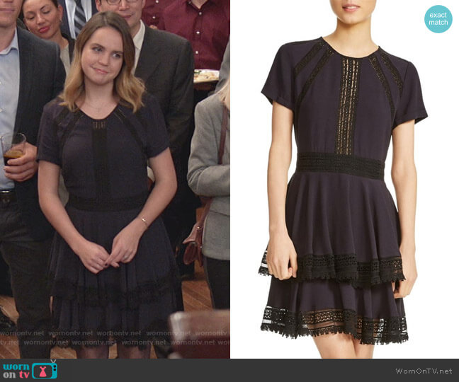 Raglia Dress by Maje worn by Grace Russell (Bailee Madison) on Good Witch