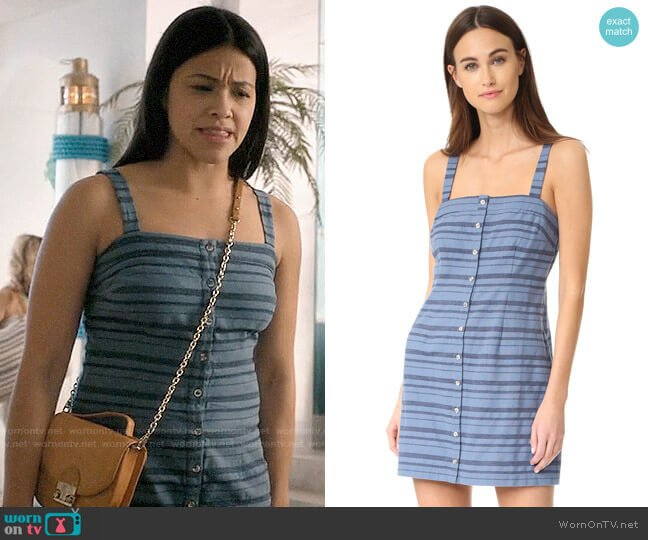 Mara Hoffman Sheath Mini Dress worn by Jane Villanueva (Gina Rodriguez) on Jane the Virgin