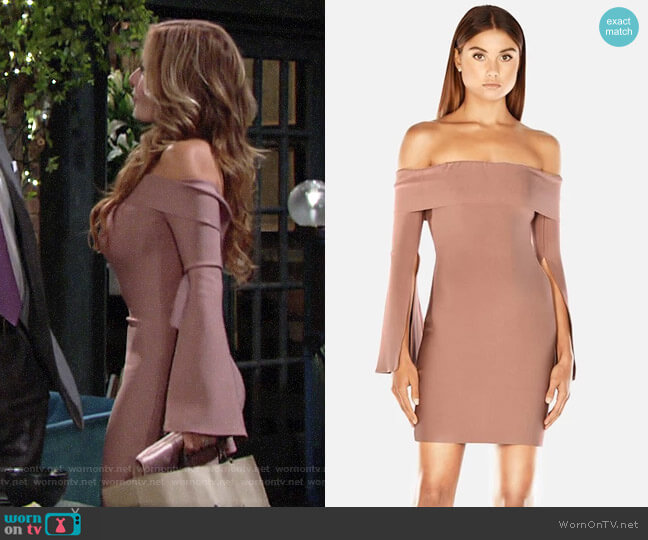 Misha Collection Rozie Dress worn by Lauren Fenmore (Tracey Bregman) on The Young & the Restless