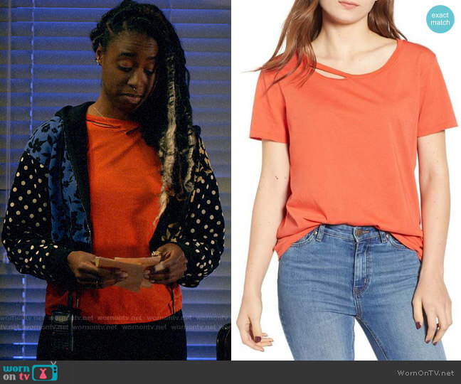 N:Philanthropy Harlow BFF Tee worn by Nicole Malloy (Kirby Howell-Baptiste) on Veronica Mars