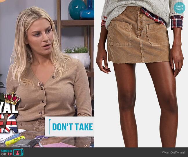 Penelope Skirt by NSF worn by Morgan Stewart  on E! News